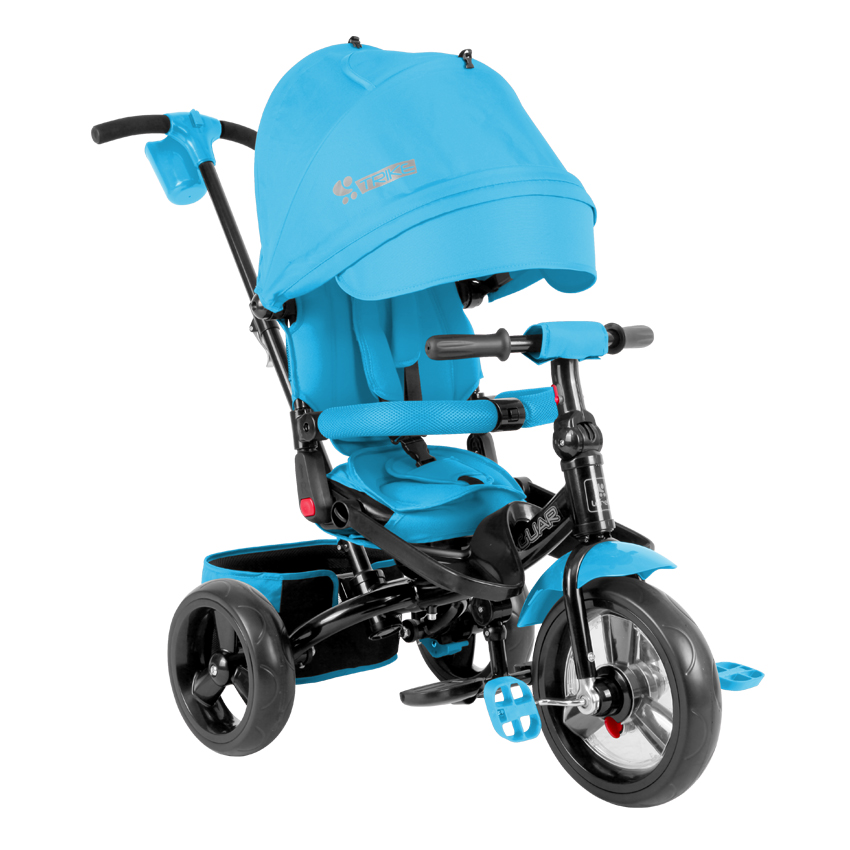 tricycle volutif pour b b enfant jaguar bleu ebay. Black Bedroom Furniture Sets. Home Design Ideas