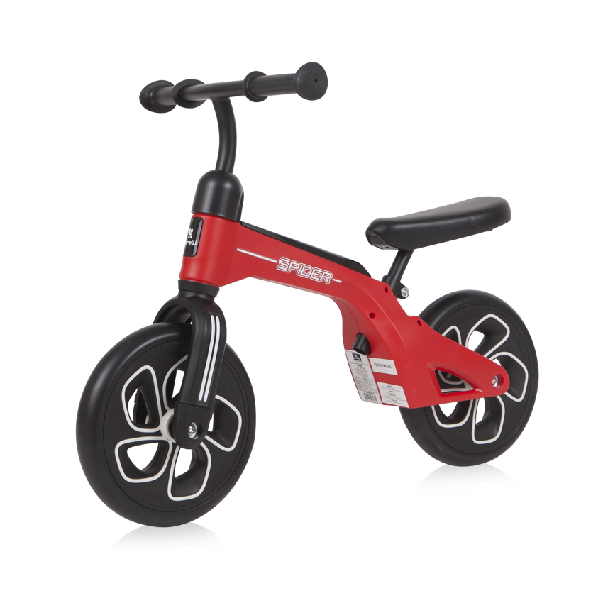 BALANCE BIKE SPIDER RED