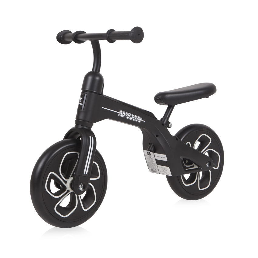 BALANCE BIKE SPIDER BLACK