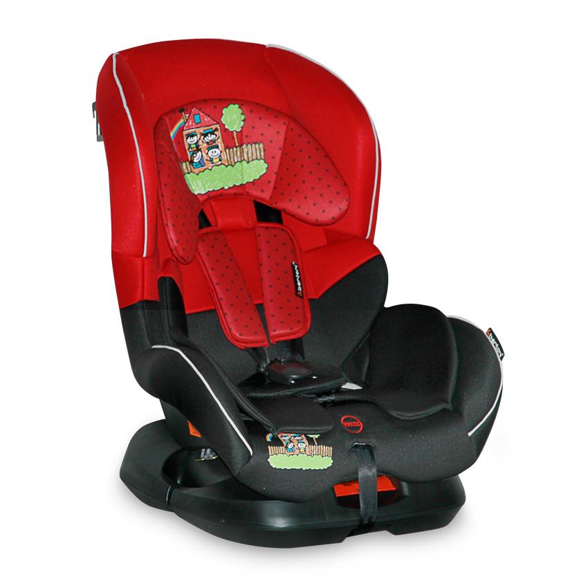 Autosedačka CONCORD 0-18KG RED&BLACK FAMILY