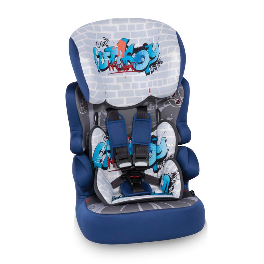 Autosedačka X-DRIVE PLUS BLUE GRAFFITI