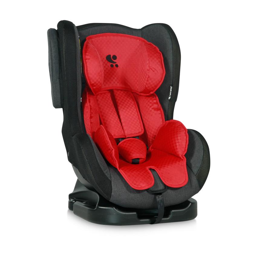 Autosedačka TOMMY 0-18KG RED&BLACK