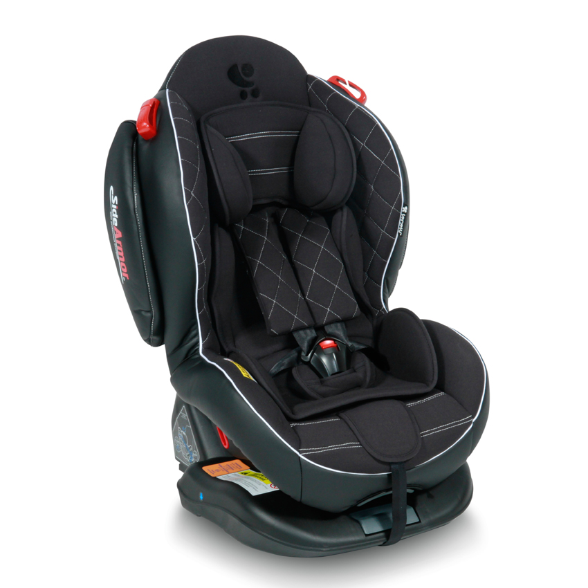 Autosedačka ARTHUR ISOFIX BLACK LEATHER 0-25KG