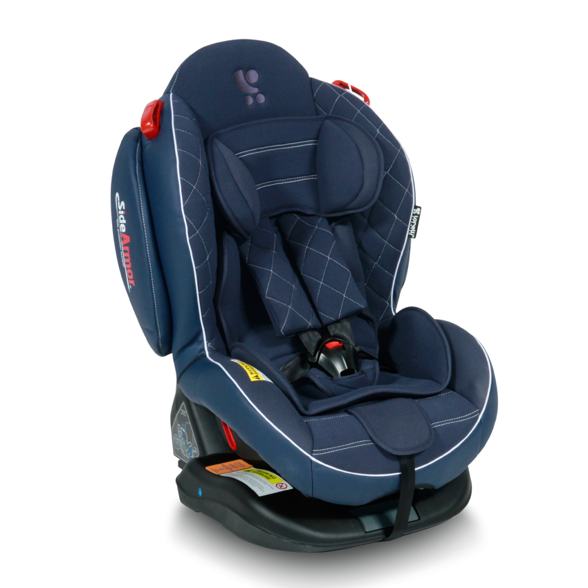 Autosedačka ARTHUR ISOFIX DARK BLUE LEATHER 0-25 KG