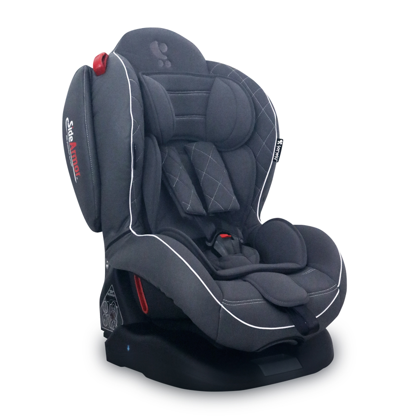 Autosedačka ARTHUR ISOFIX GREY LEATHER 0-25 KG
