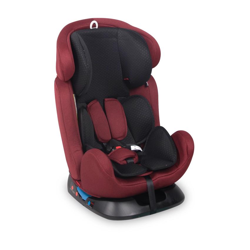 Autosedačka SANTORINI 0-36 KG RED&BLACK