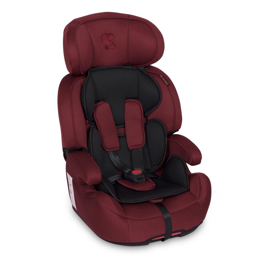 Autosedačka IRIS ISOFIX 9-36 KG RED&BLACK