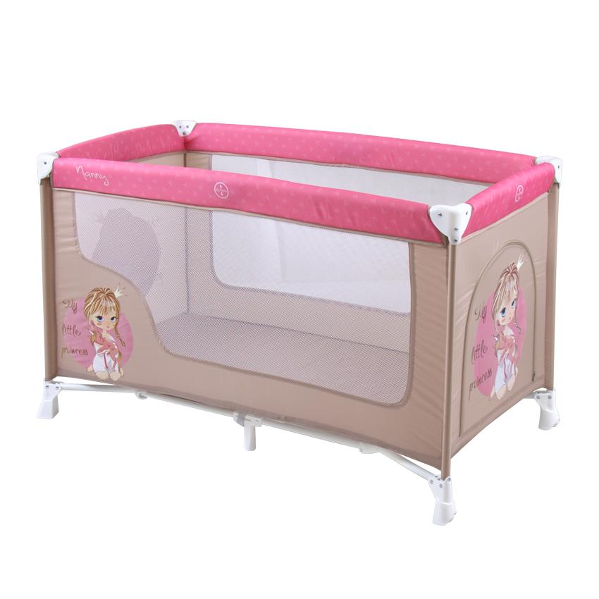 lit parapluie nanny 1 niveau rose ebay. Black Bedroom Furniture Sets. Home Design Ideas