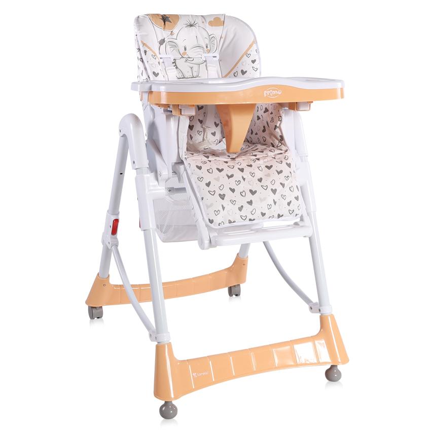 Jídelní židlička PRIMO BEIGE ELEPHANT