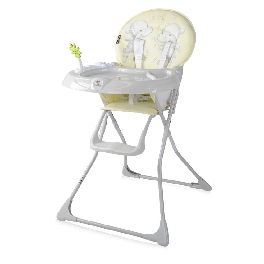 Jídelní židlička JOLLY YELLOW HAPPY HIPPO