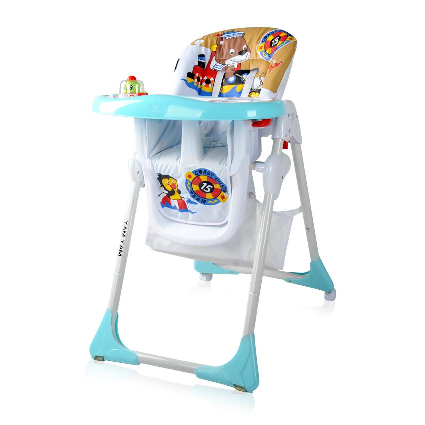 Jídelní židlička YAM YAM  BLUE BEAR SAILOR