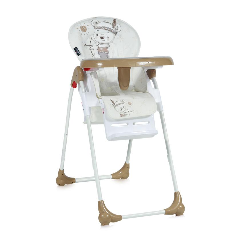 Jídelní židlička OLIVER BEIGE INDIAN BEAR