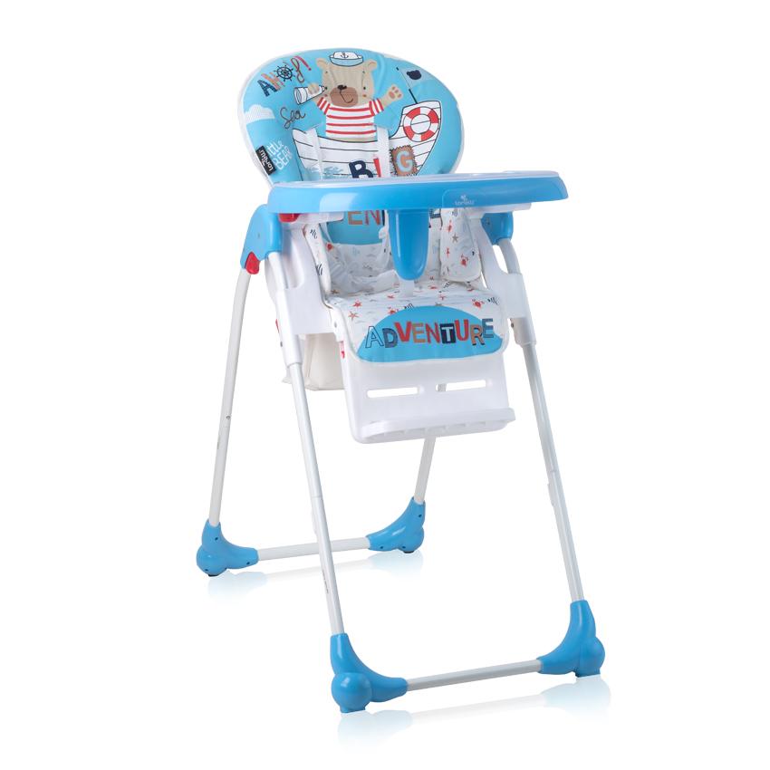 Jídelní židlička OLIVER BLUE SAILOR