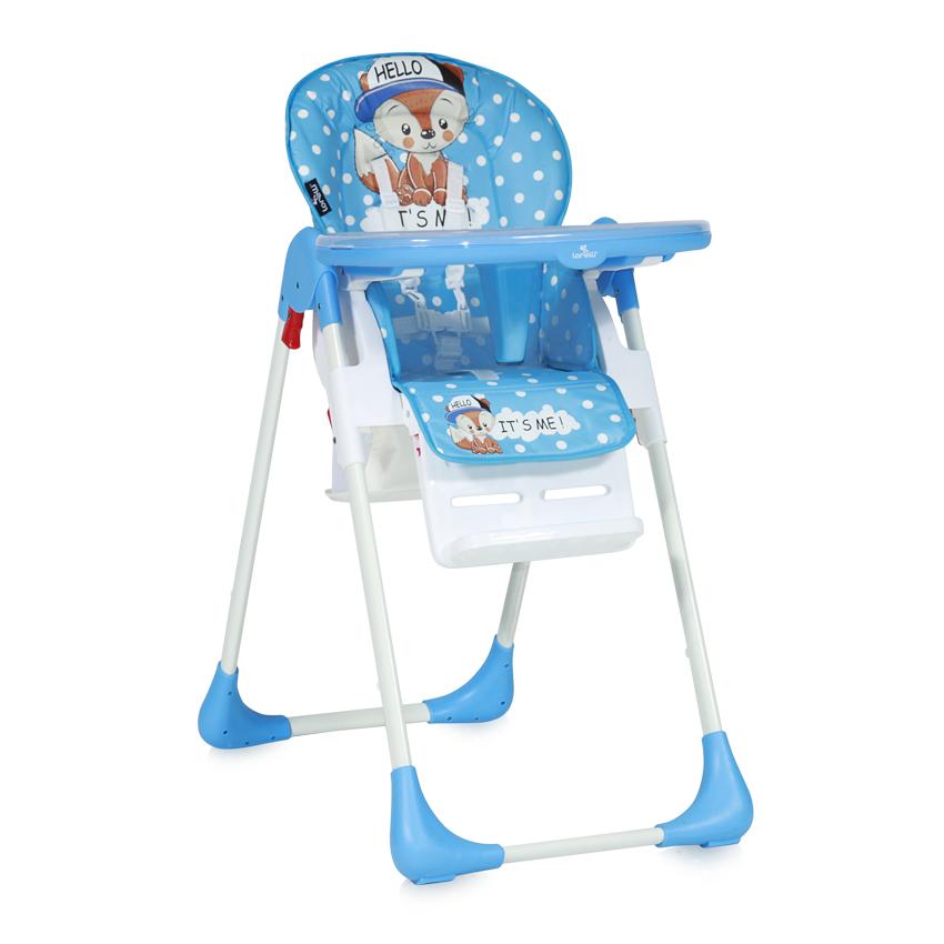 Jídelní židlička TUTTI FRUTTI BLUE BABY FOX