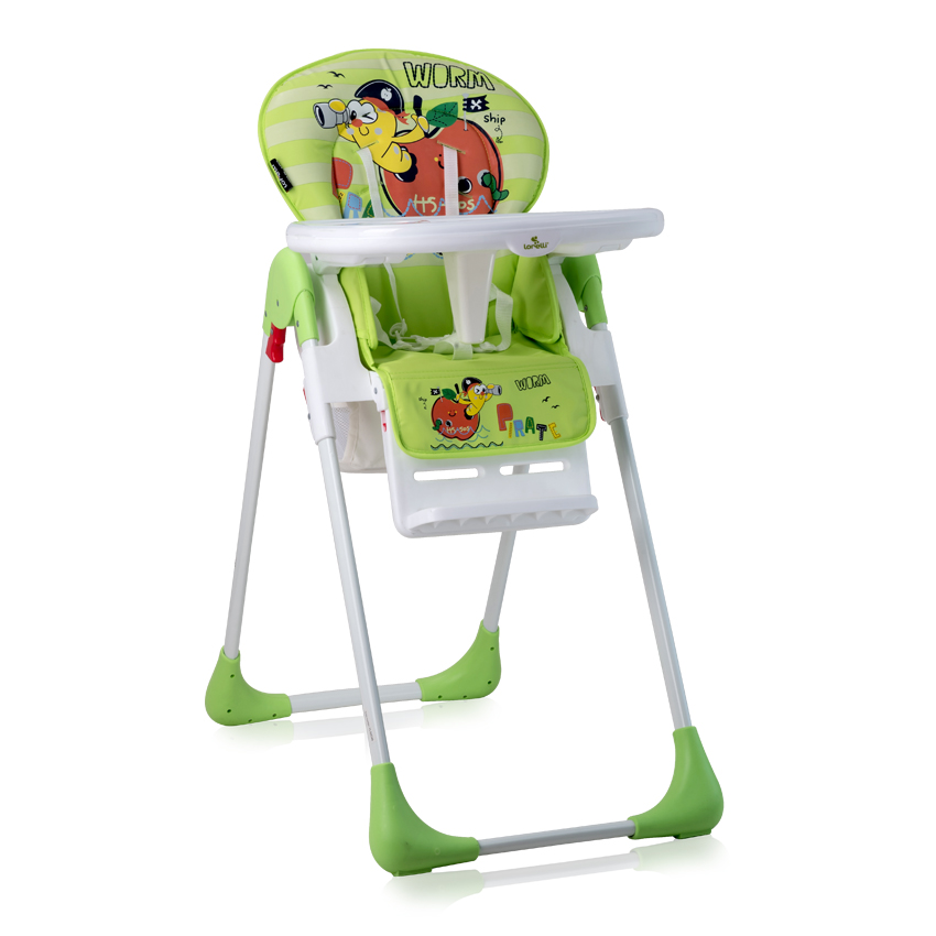 Jídelní židlička TUTTI FRUTTI GREEN WORM
