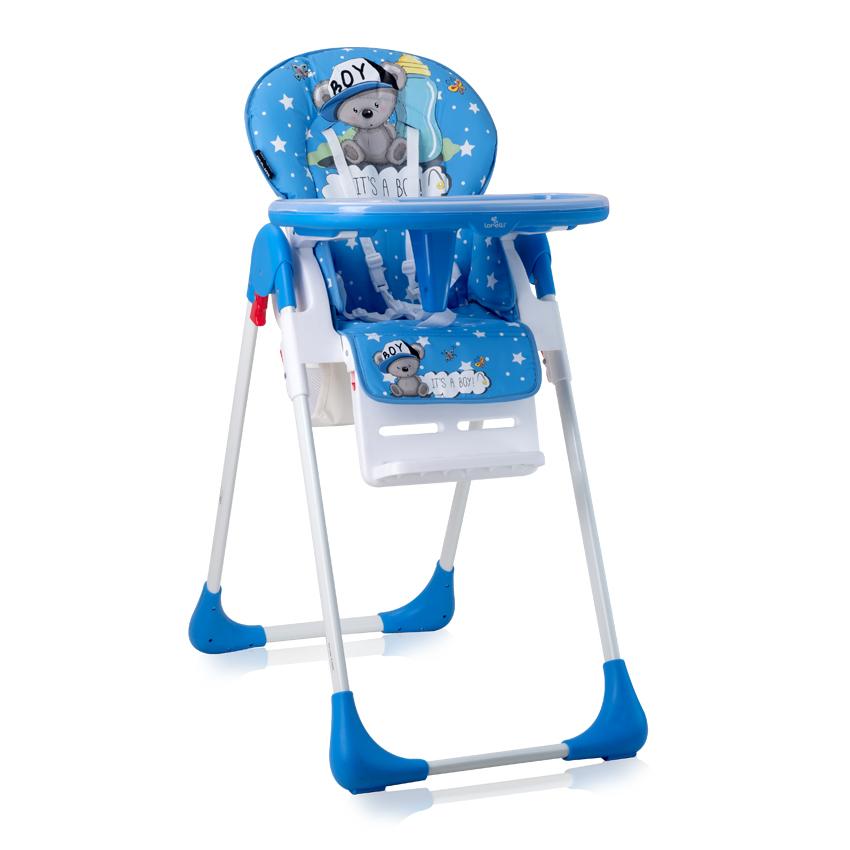 Jídelní židlička TUTTI FRUTTI BLUE BEAR BOY