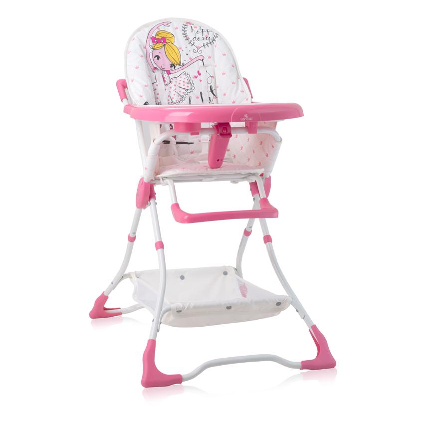 Jídelní židlička BONBON PINK BALLET