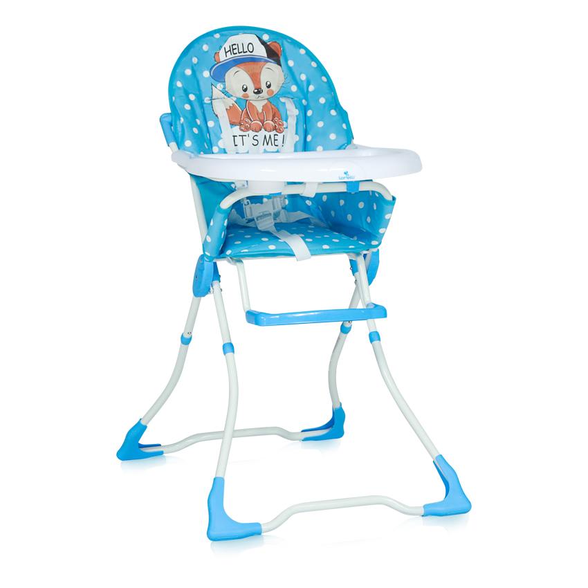 Jídelní židlička MARCEL BLUE BABY FOX