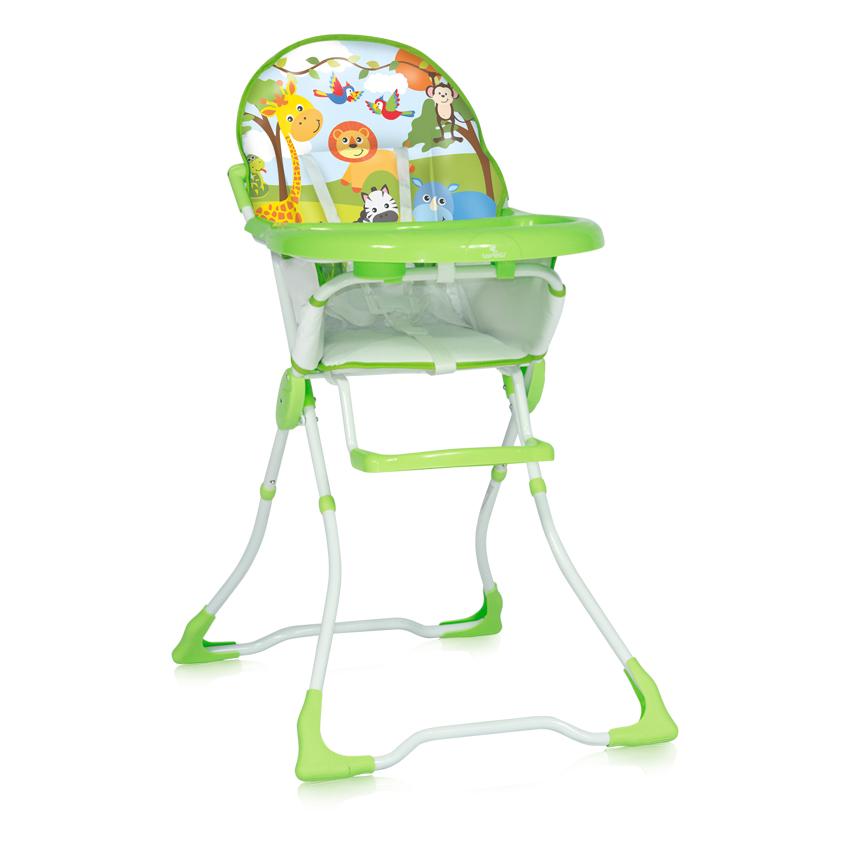 Jídelní židlička MARCEL GREEN JUNGLE