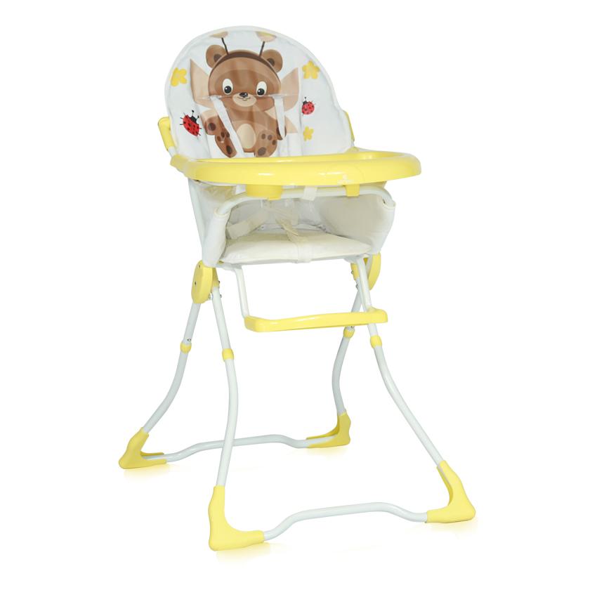 Jídelní židlička MARCEL YELLOW FAIRY BEAR