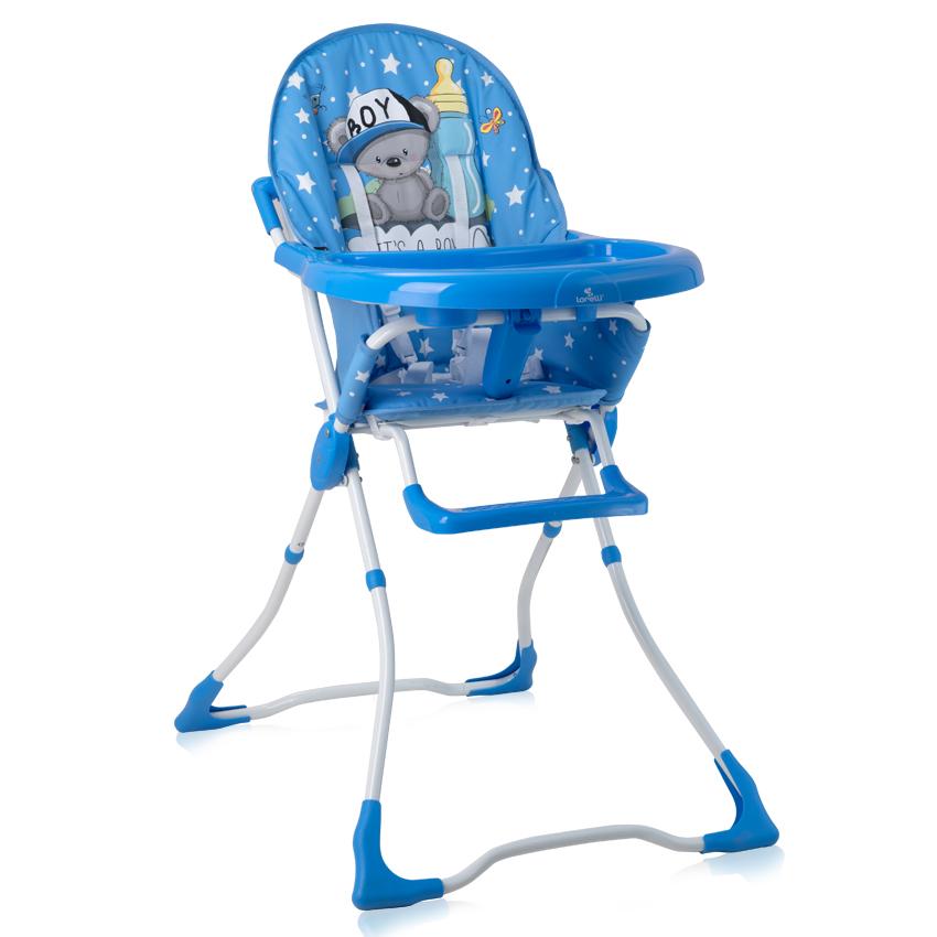 Jídelní židlička MARCEL BLUE BABY BOY