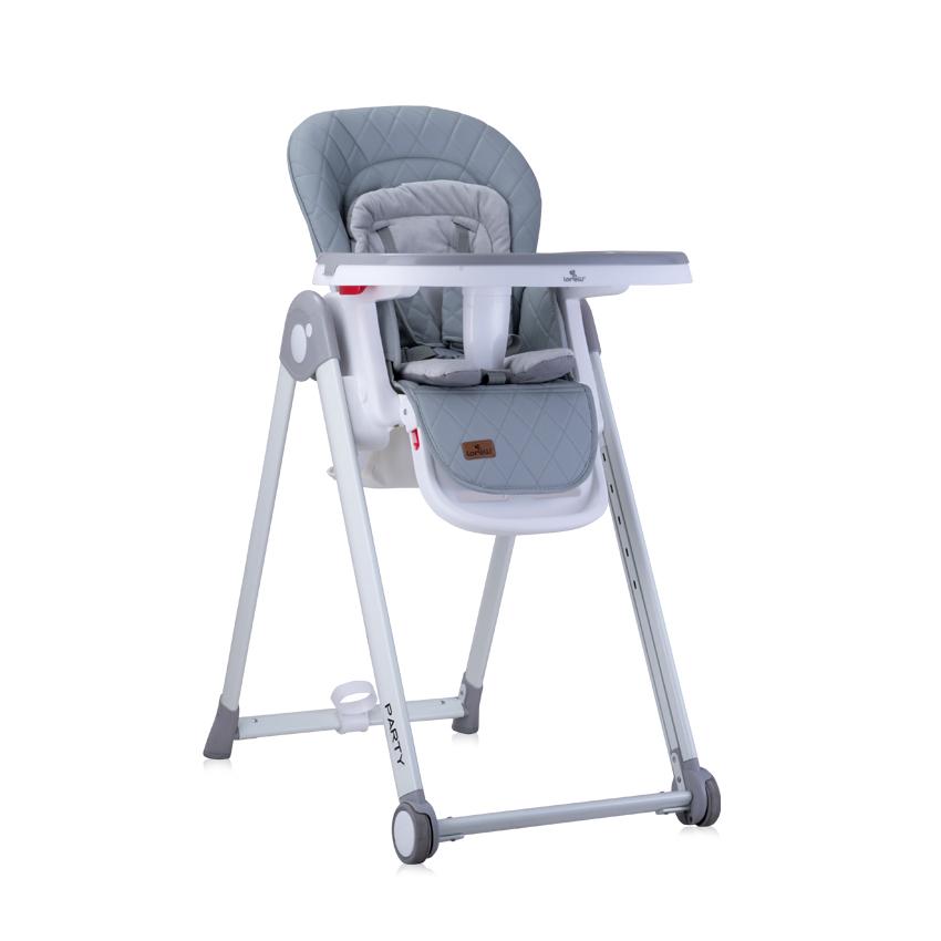Jídelní židlička PARTY GREY