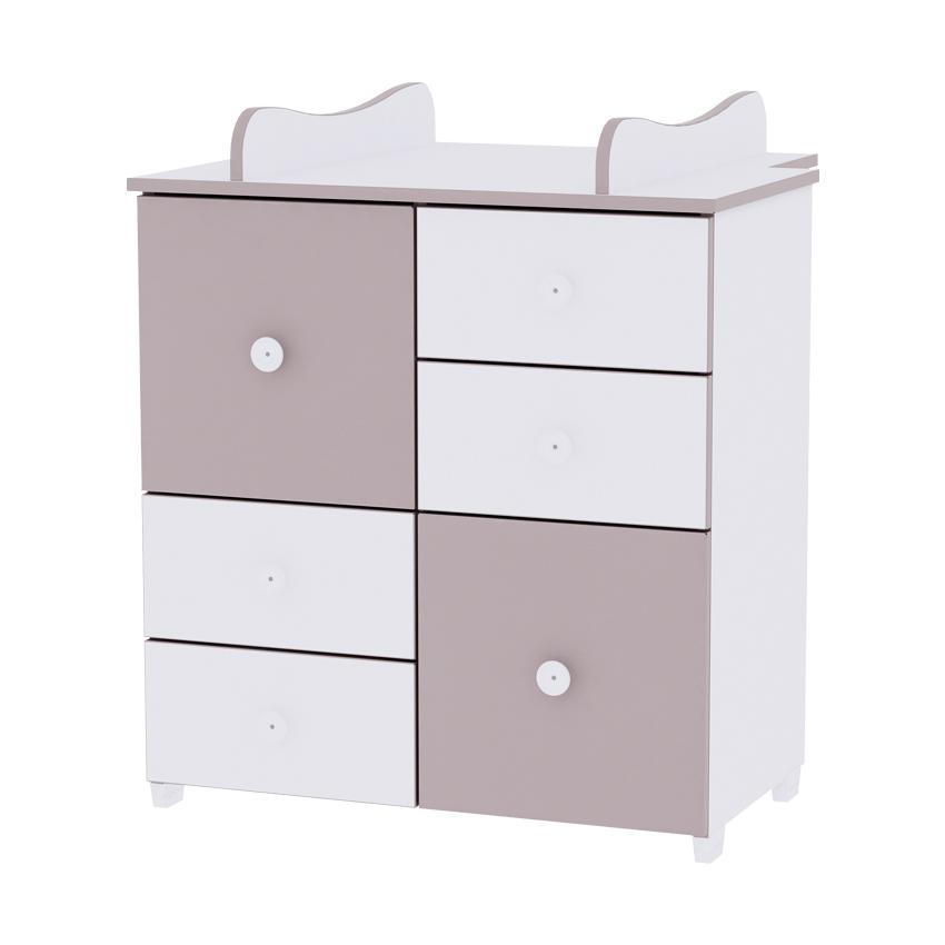 Skříňka NEW  WHITE&CAPPUCCINO