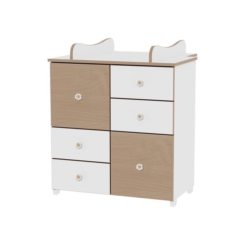 Skříňka WHITE/BEECH