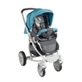 Combi Stroller S700 with summer basket Blue