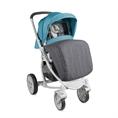 Combi Stroller S700 with footcover Blue