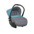 Car Seat with footcover Blue