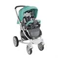 Combi Stroller S700 with summer basket Grey&Green