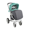 Combi Stroller S700 with footcover Grey&Green