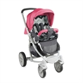 Combi Stroller S700 with summer basket Grey&Rose