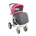 Combi Stroller S700 with footcover Grey&Rose