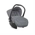 Car Seat with footcover Grey&Rose