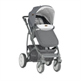 Combi Stroller VISTA with footcover GREY