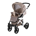 Combi Stroller RIMINI with summer basket BEIGE