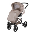 Combi Stroller RIMINI with footcover BEIGE