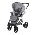 Combi Stroller RIMINI with summer basket GREY