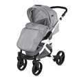 Combi Stroller RIMINI with footcover GREY
