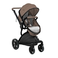 Combi Stroller LUMINA SET with summer basket BEIGE