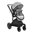 Combi Stroller LUMINA SET with summer basket GREY