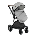Combi Stroller LUMINA SET with footcover GREY