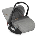 Car Seat with footcover Grey&Beige Cities *OPTION