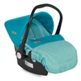Car Seat with footcover LIFESAVER Aquamarine