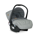 Car Seat with footcover LIFESAVER Grey