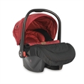 Car Seat PLUTO with footcover BLACK&RED