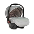 Car Seat PLUTO with footcover GREY