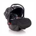Car Seat PLUTO with footcover Black MARBLE